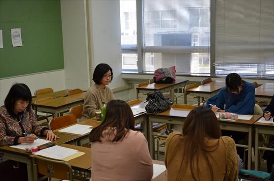 昭和女子大学の句会授業