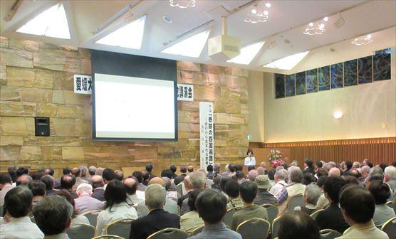 愛媛大学の記念式典で講演しました
