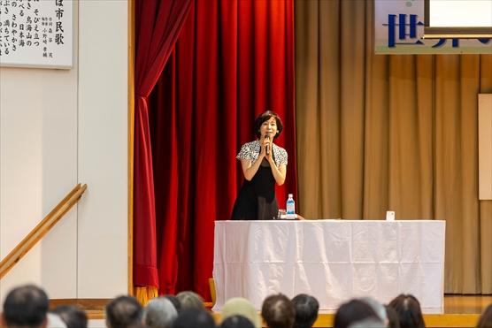 にかほ市文化講演会で講演しました
