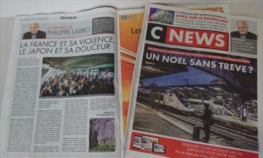 CNEWS(セ・ニューズ)紙の社説を紹介します