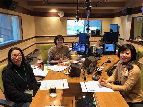 NHKラジオ第1『武内陶子のごごラジ!』に出演しました