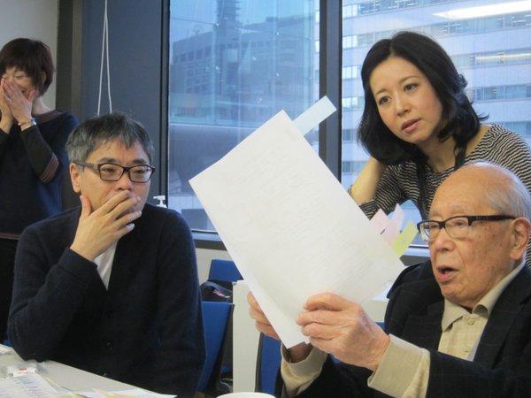 東京新聞「平和の俳句 3月分選考会」記事紹介