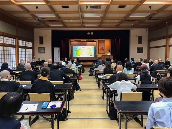 高野山「安居会」で講演しました